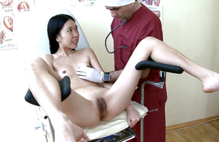 Worshipped Mey stands in different positions giving deep blowjob