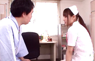 Beauty Ai Nikaidou gets her juicy voluptous tacos licked and fucked so well
