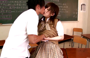 Hot young sweetie Miku Airi rides thick dink like a pro