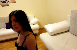 Horny Cecilia De Lys fucked bf just for the fun of it