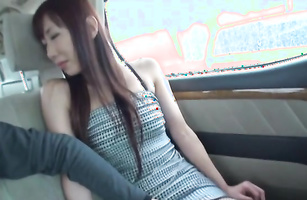 Overwhelming babe Manami Chihiro with huge tits lusts for giant jock to satisfy her special needs
