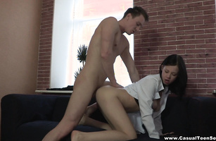 Ravishing hottie Evelyn Cage is fucking this stud with pleasure