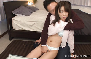 Sassy Asuka Hoshino loves having her cum-hole tongue fucked
