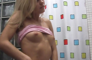 Shameless blond minx Jolanda H rides mate with joy