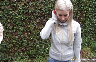 Raunchy blond Diona decided to get the job she wants right away