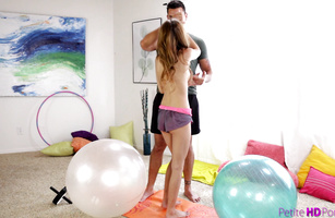 Talented bf finds his way to attractive sweetheart Maci Winslett's wet pussy