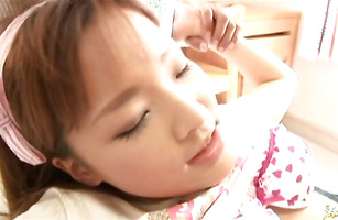 Slutty bombshell Seira Takahashi enjoys sucking a big and strong love rocket