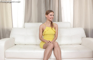 Amazing Alina West is delighted to be muff dived by a bf