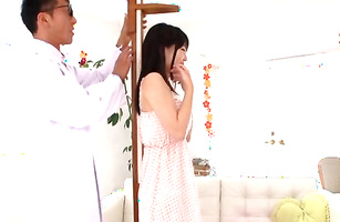 Sexual beauty Ichigo Tominaga gets her love tunnel pummeled real raw